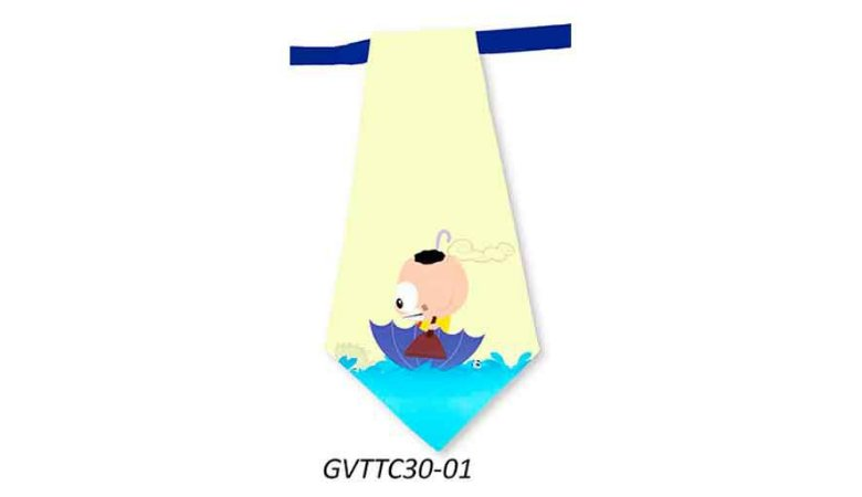 Gravatas em Tecido - GVTTC30- Pct 10 unids