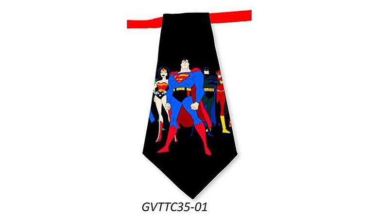 Gravatas em Tecido - GVTTC35- Pct 10 unids