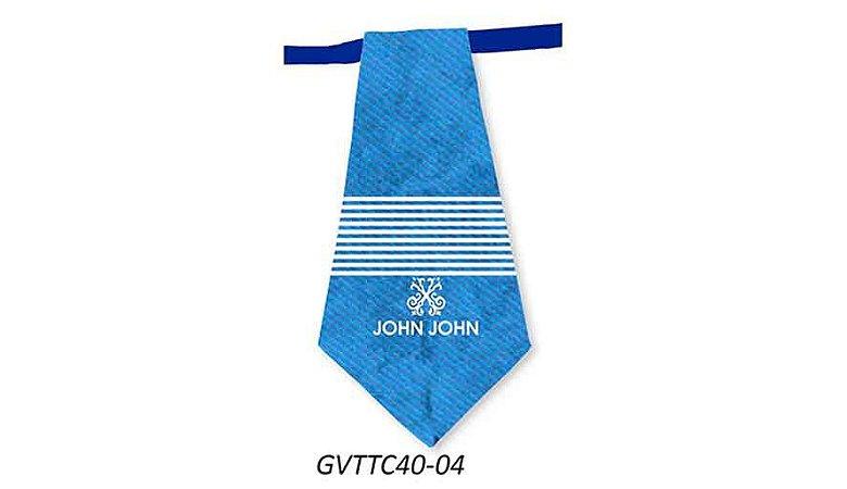 Gravatas em Tecido - GVTTC40- Pct 10 unids