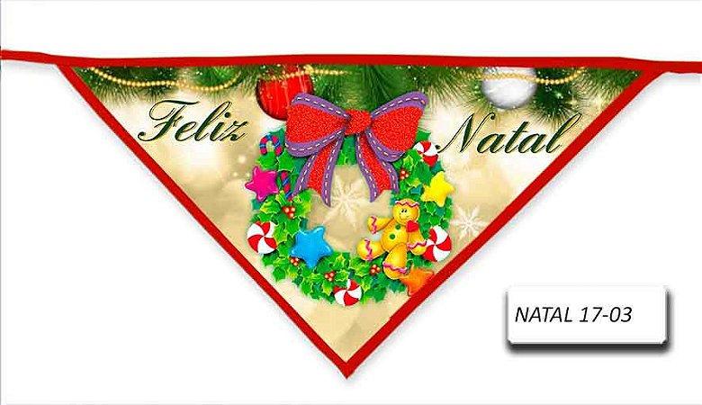 Kit 10 Bandanas Natal - NATAL-17