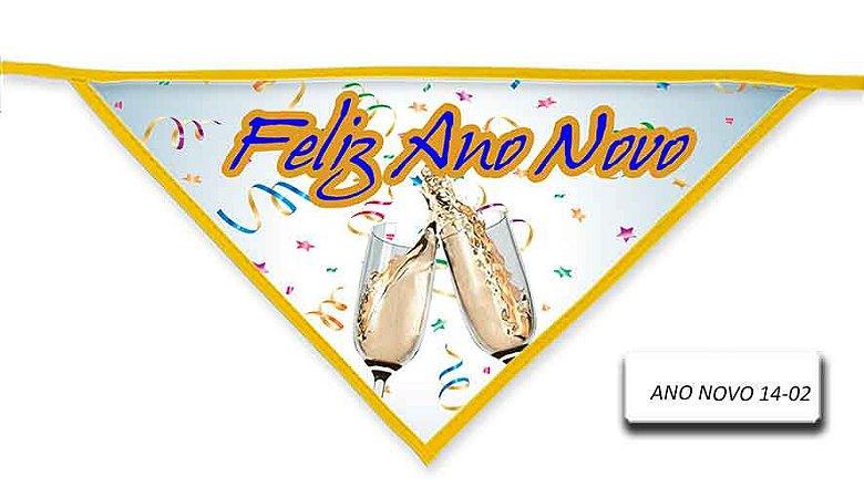 Kit 10 Bandanas ANO NOVO-14