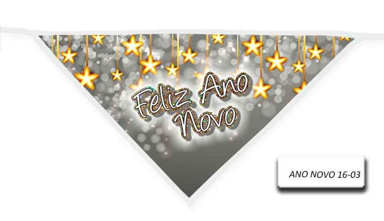 Kit 10 Bandanas ANO NOVO-16