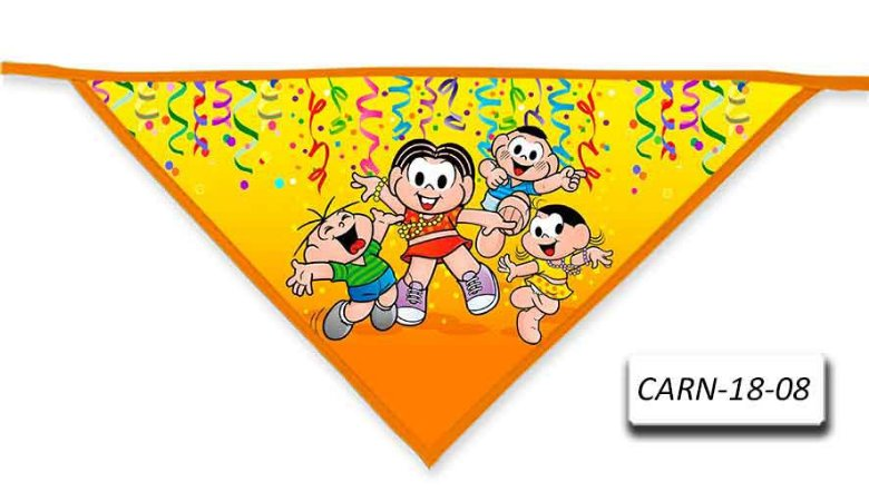 Kit 10 Bandanas- Carnaval-CARN-18-02