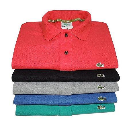 Kit 5 Camisas Polo LCT