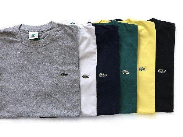 KIT 5 Camisetas Manga Curta LCT