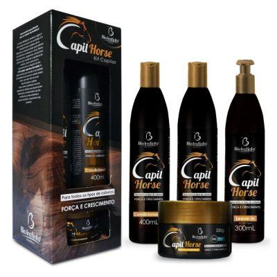 Kit Tratamento Capilar Capil Horse - Crescimento Dos Cabelos