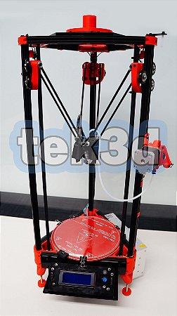Kit impressora 3D Kossel mini TEK3D Bowden 1.75mm
