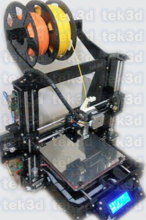 Kit Impressora Graber I3 Tek3d Direct Drive