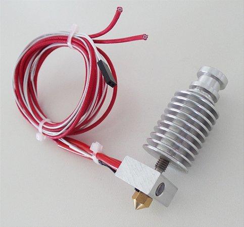 Hotend J-head E3d para Filamentos de 1,75mm e Bico de 0,4mm