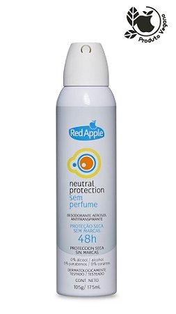 Desodorante Antitranspirante Aerosol Sem Perfume