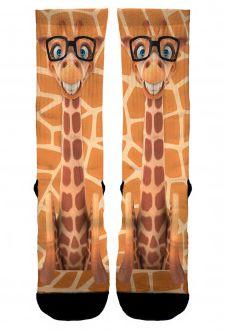 Meia Elite Girafa - Cano Médio
