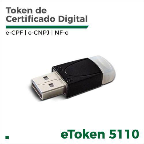 Token para Certificado Digital Safenet 5110 - Homologado (cor branco)