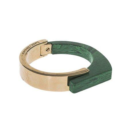 LANVIN  Pulseira Lanvin Resina e Metal Verde
