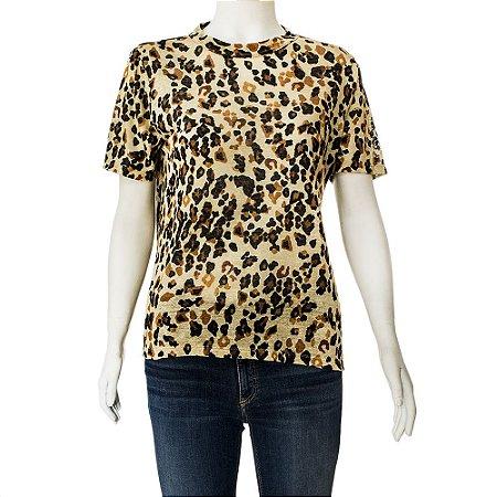 SISSA | Camiseta Sissa Algodao Animal Print