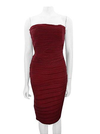 LANVIN | Vestido Plissado Lanvin Tecido Vermelho