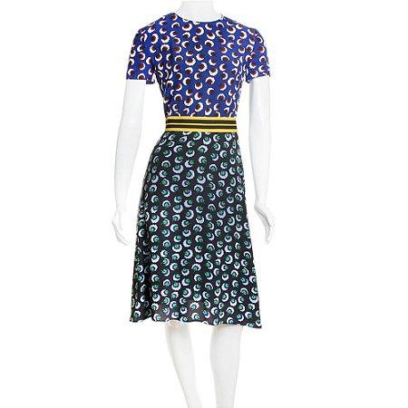 STELLA MCCARTNEY | Vestido Stella McCartney Seda Estampado