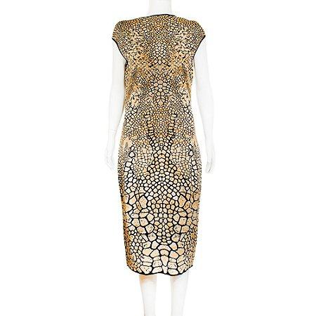 MISSONI | Vestido Missoni Lurex Dourado