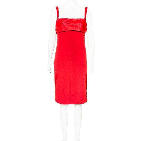 VALENTINO | Vestido Valentino Seda Vermelho