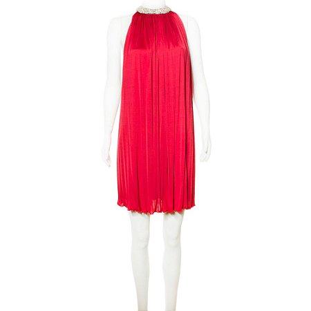 AZZARO | Vestido Azzaro Viscose Vermelho