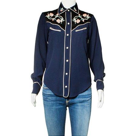 ISABEL MARANT | Camisa Isabel Marant Viscose Azul