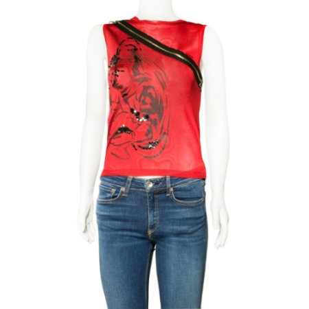 DIOR | Regata Dior Viscose Vermelha