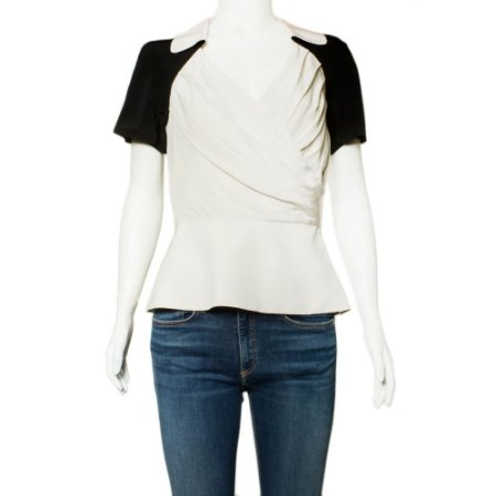 DIOR | Blusa Dior Seda Off White