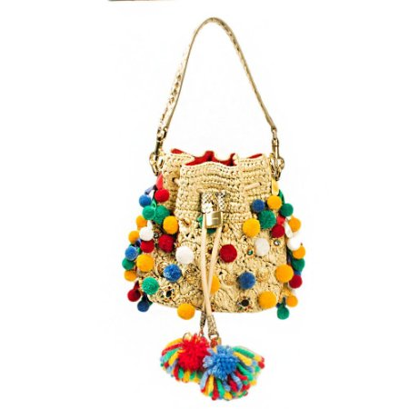 DOLCE & GABBANA | Bolsa Dolce & Gabbana Bucket Palha