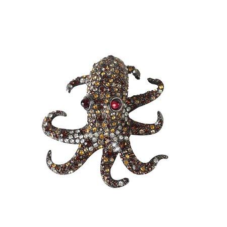 KENNETH | Broche Kenneth Octopussy Laranja