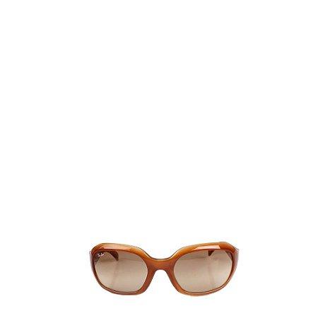 RAY BAN   Oculos Ray Ban Acrilico Marrom