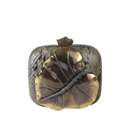 LANVIN   Menudiere Lanvin Folha Bronze