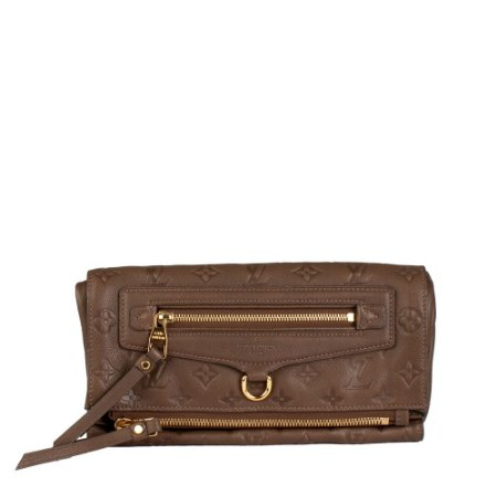 LOUIS VUITTON | Clutch Louis Vuitton Couro Marrom