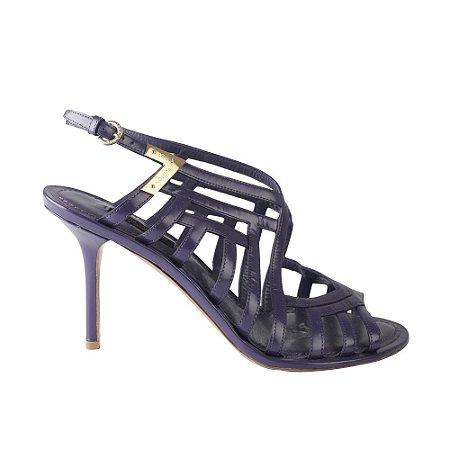 LOUIS VUITTON | Sapato Louis Vuitton Drapeado Lilas
