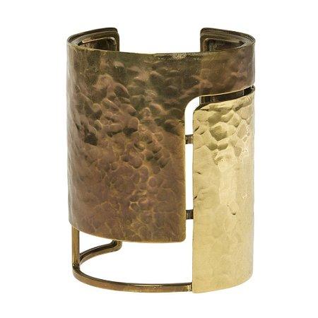 LANVIN | Bracelete Lanvin Metal Dourado e Acobreado