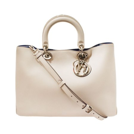 CHRISTIAN DIOR | Bolsa Christian Dior Couro Off White