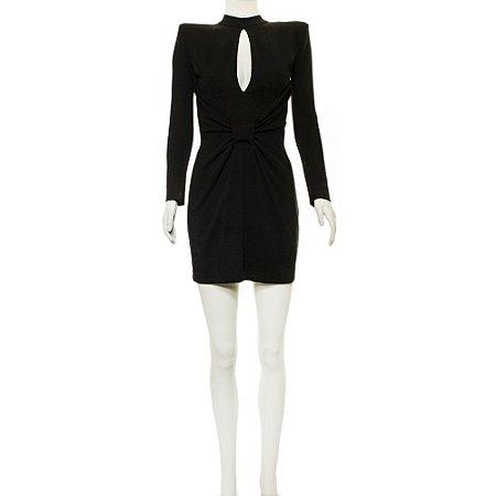 BALMAIN | Vestido Balmain Lã Preto