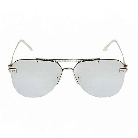 LOUIS VUITTON | Óculos Louis Vuitton Cromado Prateado