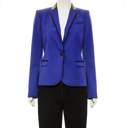 BARBARA BUI | Blazer Barbara Bui Lã Azul Royal