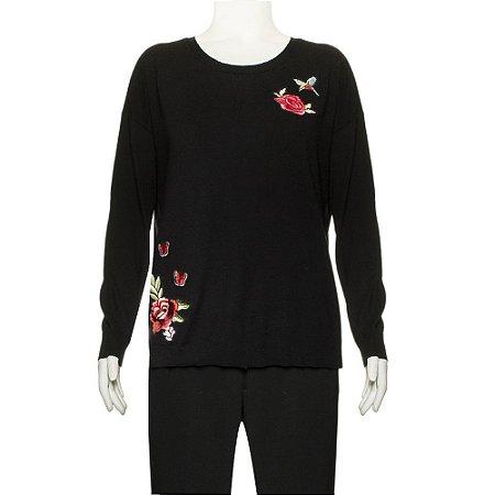 JOIE | Pullover Joie Lã Preto