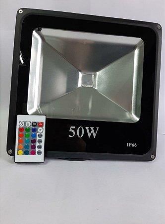 REFLETOR LED 50W RGB ENERGY SAVING