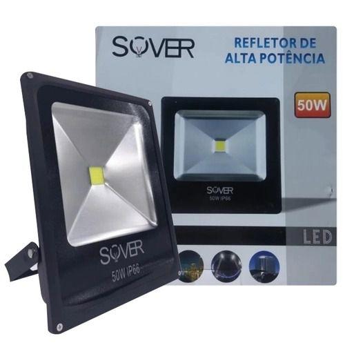 REFLETOR LED 50W 3000K CHIP SOVER