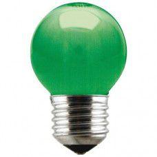 Lâmpada Bolinha 3W Verde  LUZ Solar