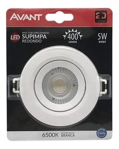 SPOT LED 5W REDONDO 6500K AVANT