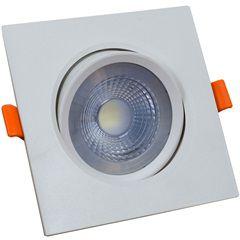 SPOT LED 7W QUADRADO 3000K