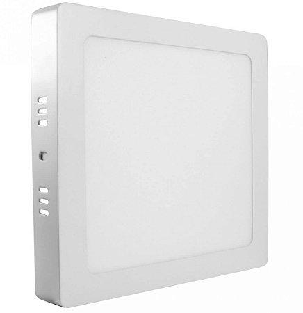 Painel LED Sobrepor 18W Quadrado 6500K