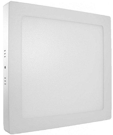 PAINEL LED SOBREPOR 25W QUADRADO 6500K