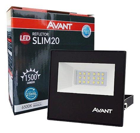 REFLETOR LED 20W BRANCO 6500K