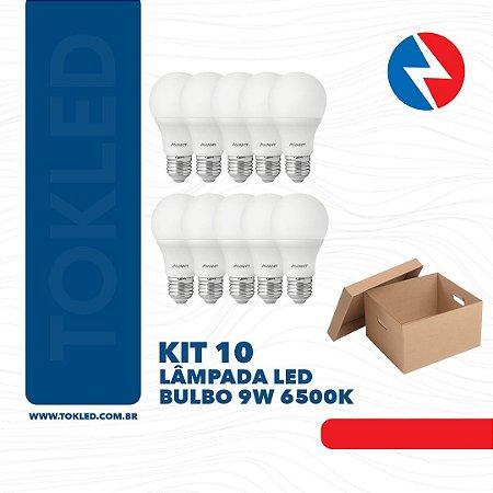 LAMPADA LED BULBO 9W 6500K AVANT