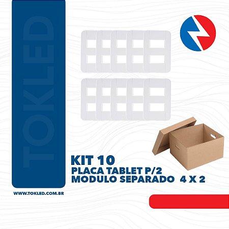 TRAMONTINA TABLET PLACA P/2 MODULO 4 X 2