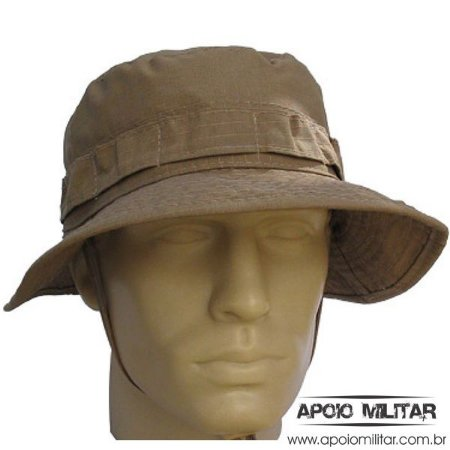 Chapéu Tático Selva Modelo USA - Cáqui