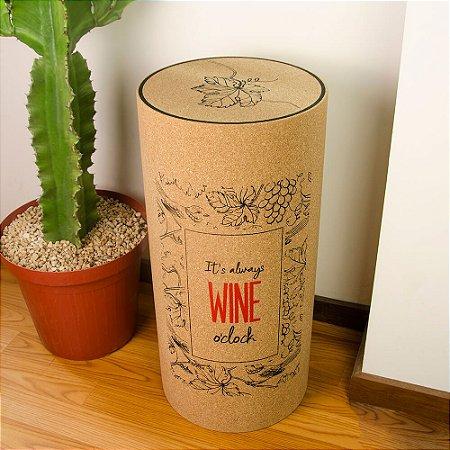 Banqueta Rolha Wine O'Clock